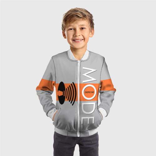 Детский бомбер 3D  Фото 05, Depeche mode