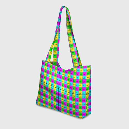 Пляжная сумка 3D Тестовый яркий Фото 01