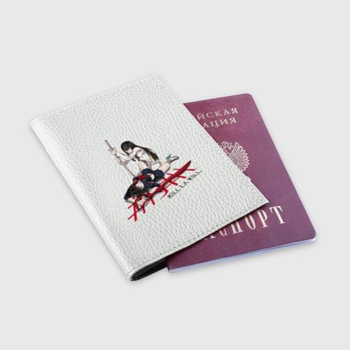 Обложка для паспорта матовая кожа  Фото 03, Kill la Kill