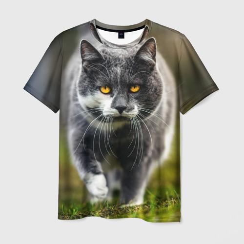 Мужская футболка 3D Котэ
