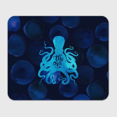 Коврик прямоугольный  Фото 01, крутой осьминог