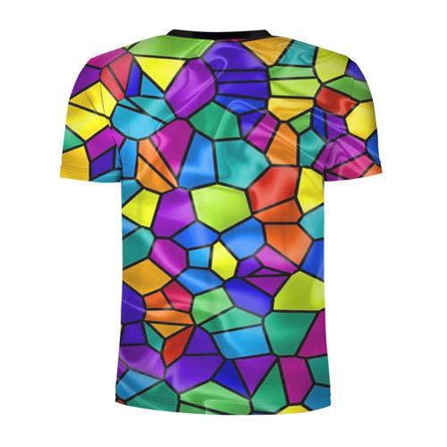 Мужская футболка 3D спортивная  Фото 02, Калейдоскоп