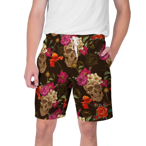 Мужские шорты 3D  Фото 01, черепа