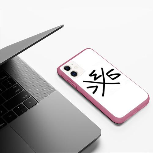 Чехол для iPhone 11 матовый Хлеб Фото 01