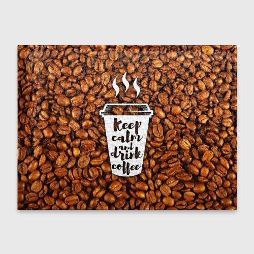 Обложка для студенческого билета  Фото 01, keep calm and drink coffee