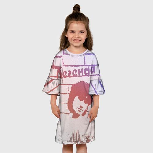Детское платье 3D  Фото 01, Легенда В.Цой