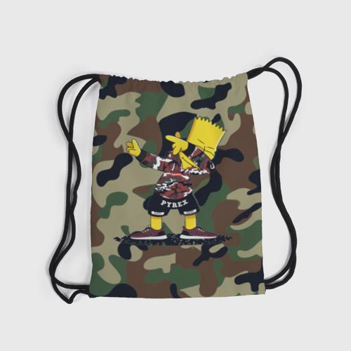 Рюкзак-мешок 3D  Фото 04, Dab Bart Simpson