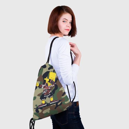 Рюкзак-мешок 3D  Фото 02, Dab Bart Simpson