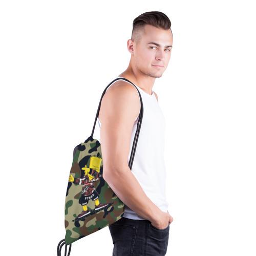 Рюкзак-мешок 3D  Фото 03, Dab Bart Simpson
