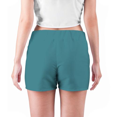 Женские шорты 3D  Фото 04, Caution