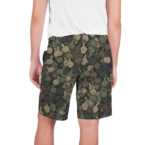 Мужские шорты 3D  Фото 02, Камуфляж с пальцами