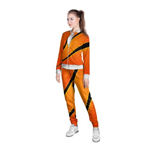 Женская олимпийка 3D  Фото 05, orange
