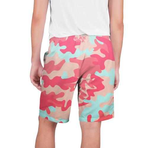 Мужские шорты 3D  Фото 02, Black Milk Розовый Камуфляж