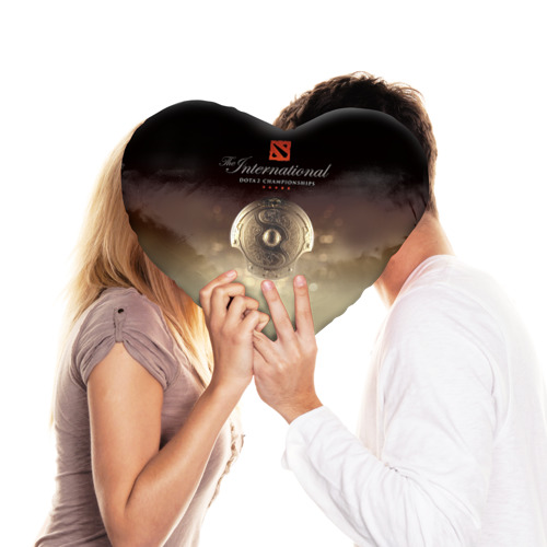 Подушка 3D сердце  Фото 03, Dota 2_7