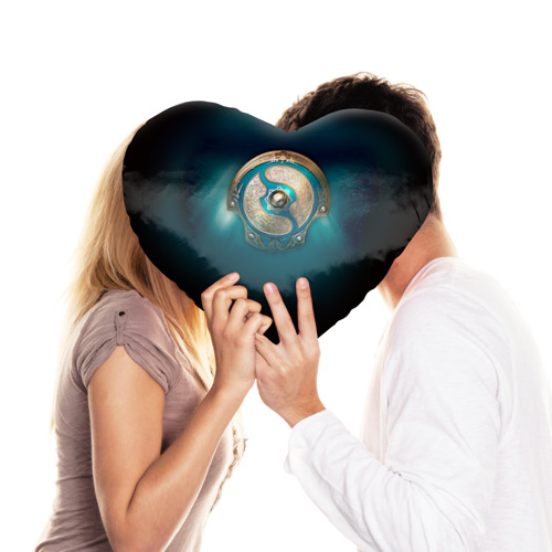 Подушка 3D сердце  Фото 03, Dota 2_6