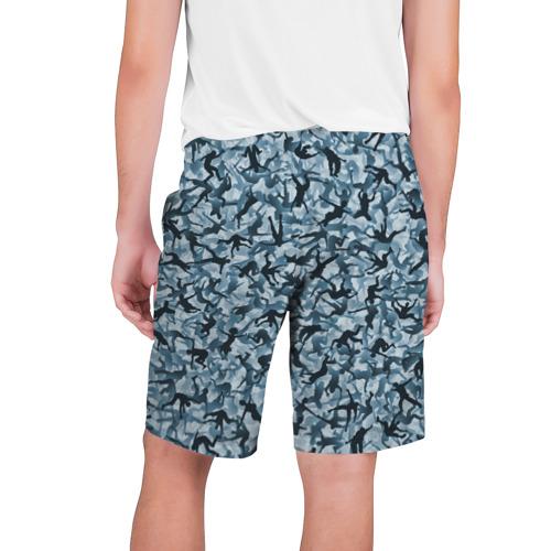 Мужские шорты 3D  Фото 02, Человеческий камуфляж