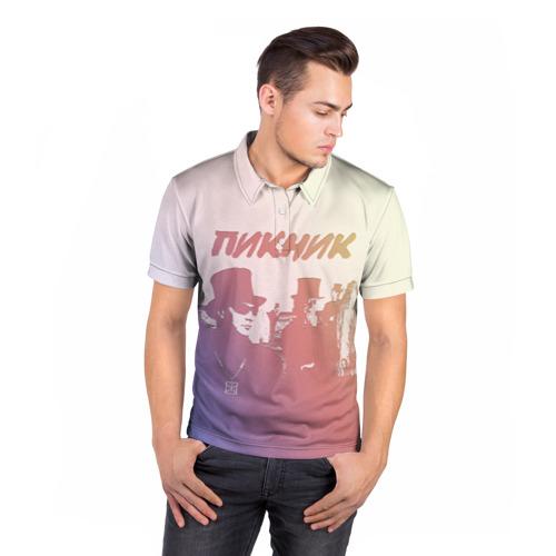 Мужская рубашка поло 3D  Фото 05, Группа Пикник