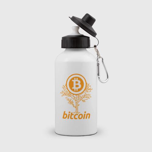 Бутылка спортивная Bitcoin Tree - Дерево Биткоин
