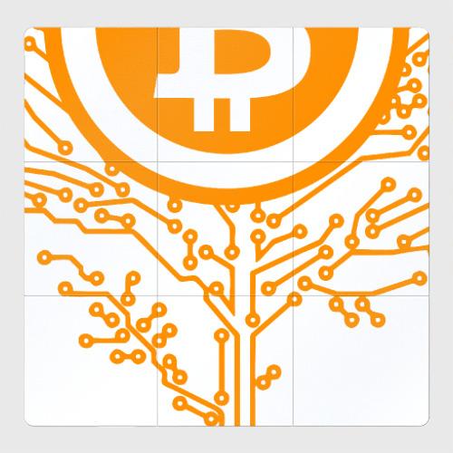 Магнитный плакат 3Х3 Bitcoin Tree - Дерево Биткоин