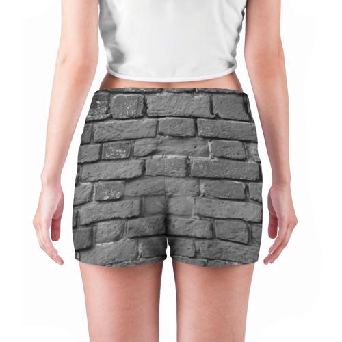 Женские шорты 3D  Фото 04, Пикник мелом на стене