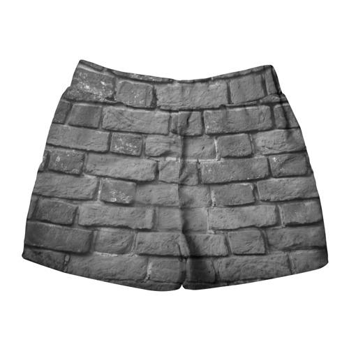 Женские шорты 3D  Фото 02, Пикник мелом на стене