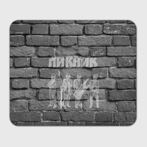 Коврик для мышки прямоугольный  Фото 01, Пикник мелом на стене