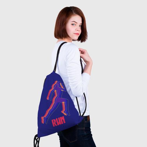 Рюкзак-мешок 3D  Фото 02, Спортивный бег!