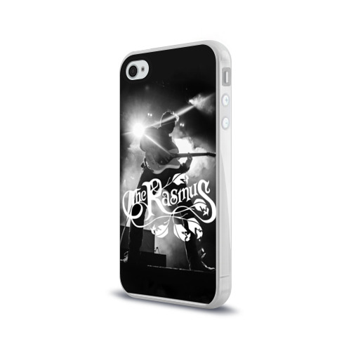 Чехол для Apple iPhone 4/4S силиконовый глянцевый  Фото 03, The Rasmus