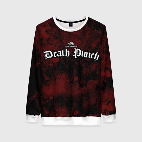 Женский свитшот 3D Five Finger Death Punch Фото 01