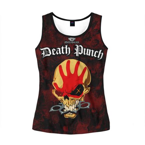 Женская майка 3D Five Finger Death Punch 4