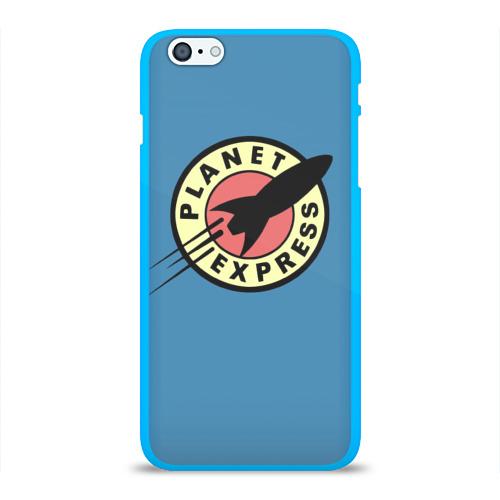 Чехол для Apple iPhone 6Plus/6SPlus силиконовый глянцевый Futurama (Planet Express) Фото 01