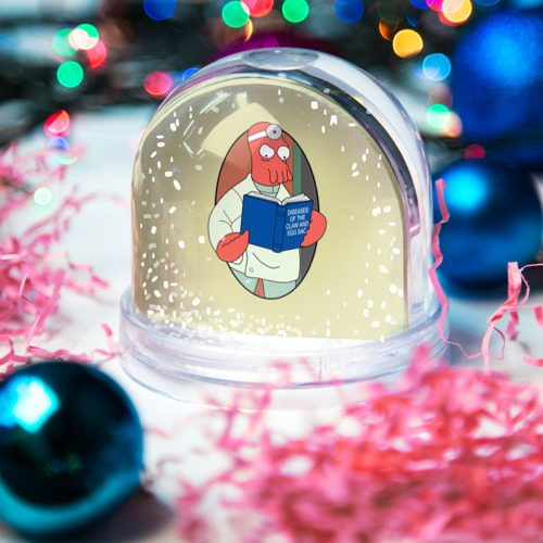 Водяной шар со снегом  Фото 03, Зоидберг
