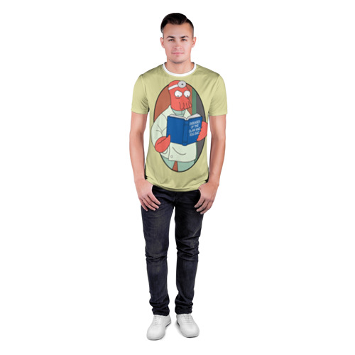 Мужская футболка 3D спортивная  Фото 04, Зоидберг