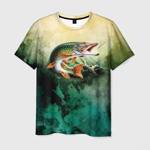 Мужская футболка 3D Удача