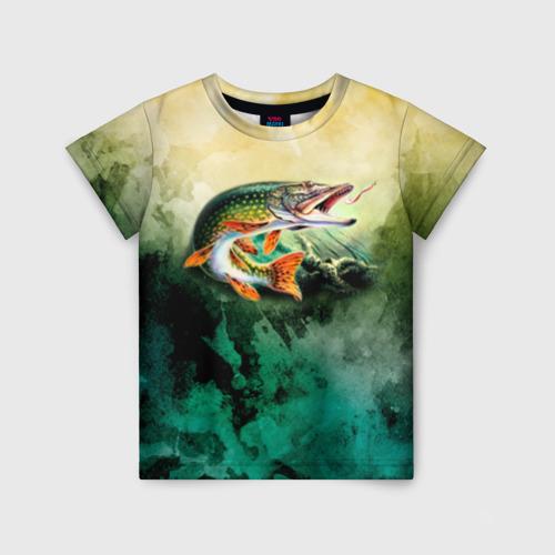 Детская футболка 3D Удача Фото 01