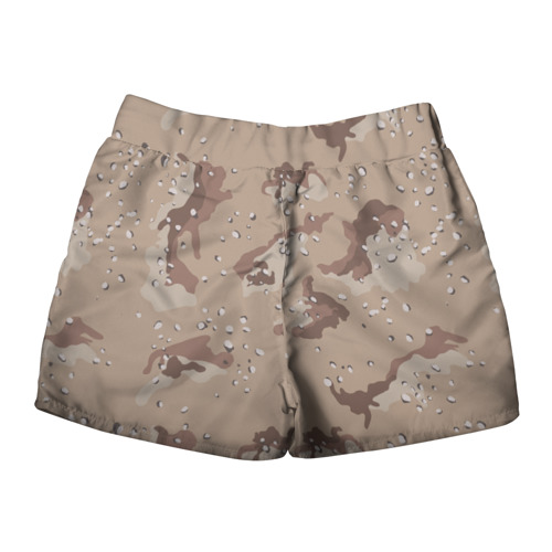 Женские шорты 3D  Фото 02, Камуфляж пустынный 6ти цветный