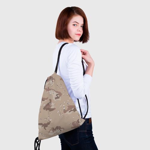 Рюкзак-мешок 3D  Фото 02, Камуфляж пустынный 6ти цветный