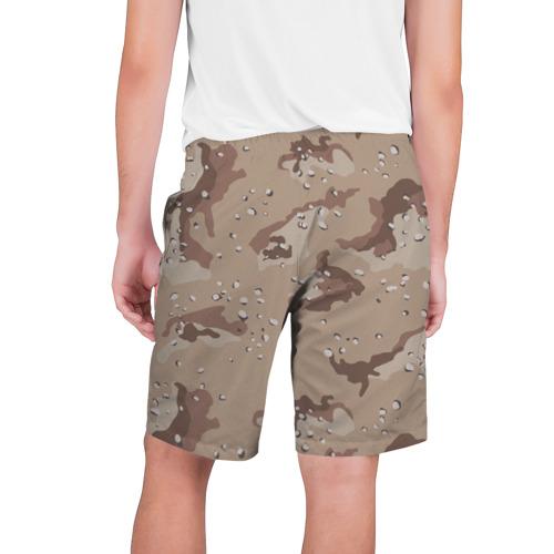 Мужские шорты 3D  Фото 02, Камуфляж пустынный 6ти цветный