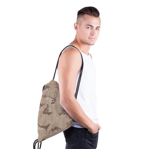 Рюкзак-мешок 3D  Фото 03, Камуфляж пустынный 6ти цветный