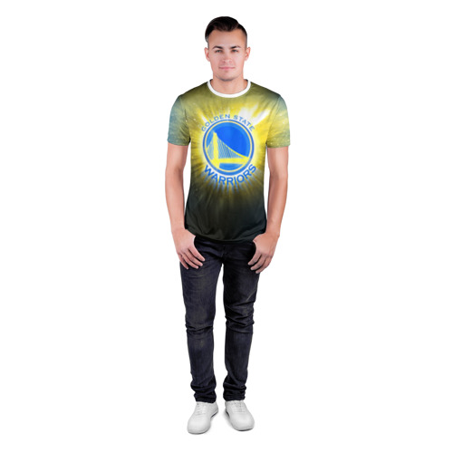 Мужская футболка 3D спортивная  Фото 04, Golden State Warriors 4