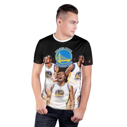 Мужская футболка 3D спортивная  Фото 03, Golden State Warriors 5
