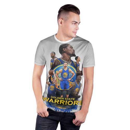 Мужская футболка 3D спортивная  Фото 03, Golden State Warriors 9