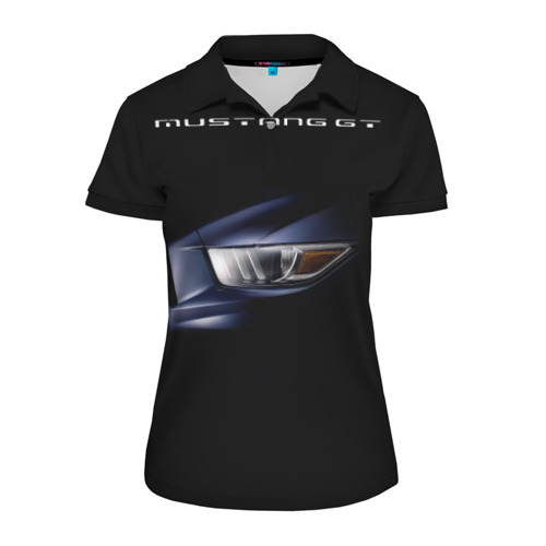 Женская рубашка поло 3D Ford Mustang GT 2 Фото 01