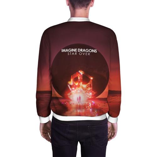 Мужской бомбер 3D  Фото 04, Imagine Dragons