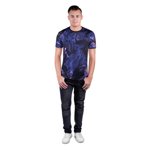 Мужская футболка 3D спортивная  Фото 04, Нефть