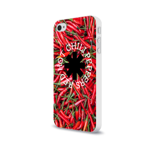 Чехол для Apple iPhone 4/4S soft-touch  Фото 03, Red Hot Chili Peppers