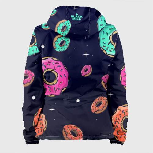 Женская куртка 3D  Фото 02, Black Milk Космические Пончики