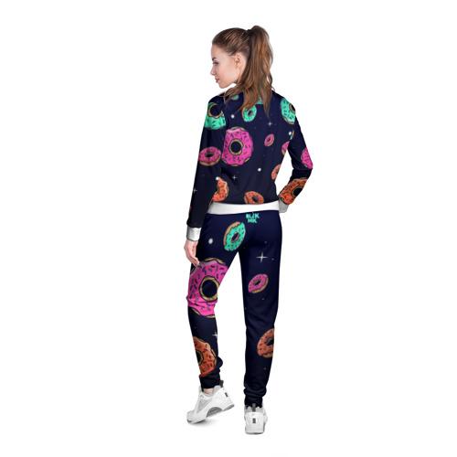 Женская олимпийка 3D  Фото 04, Black Milk Космические Пончики