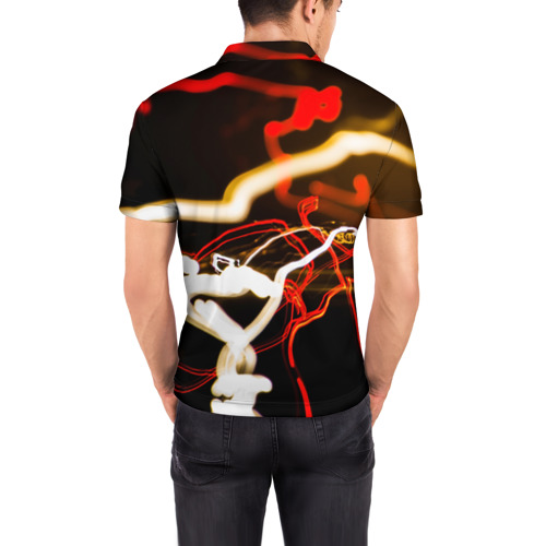 Мужская рубашка поло 3D  Фото 04, Mercedes-Benz