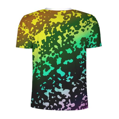 Мужская футболка 3D спортивная  Фото 02, Камуфляж трехцветный